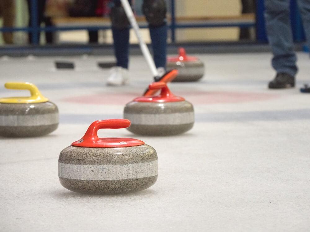 curling esporte de inverno