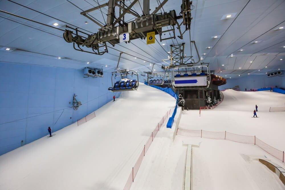 esqui esporte de inverno